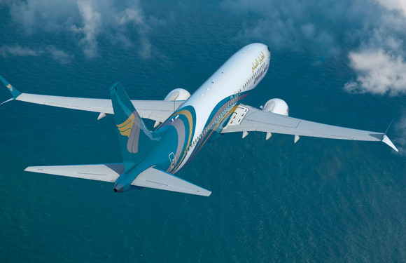 Oman Air Receives Its Third New Boeing 737 MAX 8