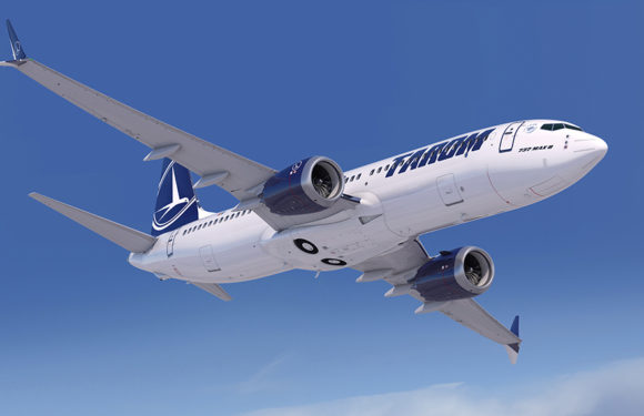 TAROM Romanian Air Transport Orderd Five Boeing 737 MAX 8 Airplanes