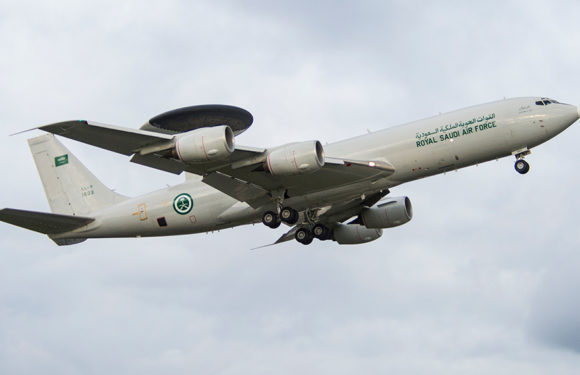 Boeing Completes Radar Upgrade for Saudi Arabia's AWACS Fleet