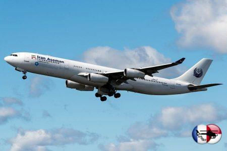 Iran Aseman летает во Внуково на старейшем A340-300 в мире