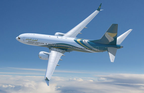 Oman Air Receives Its Fourth Boeing 737 MAX 8