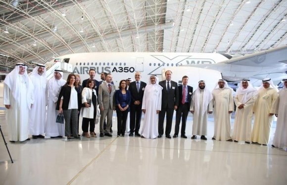 Kuwait Airways welcomes A350 XWB