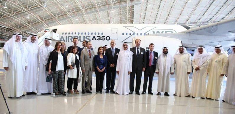 Kuwait Airways welcomes A350 XWB