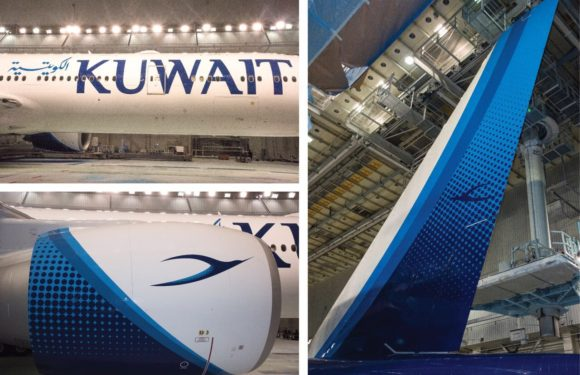 Kuwait Airways Unveils its New Livery