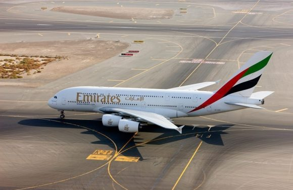 Emirates' A380 sets course for Kuwait