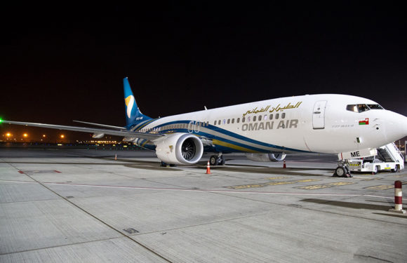 Fifth Brand New Boeing 737 MAX Joins Oman Air's Fleet