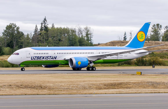 Uzbekistan Airways Orders An Additional Boeing 787-8 Dreamliner