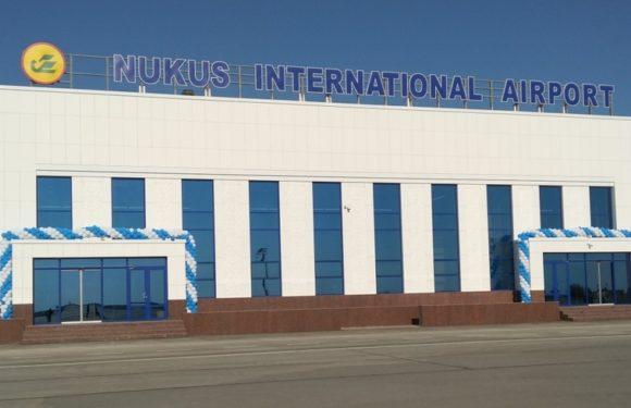 Nukus xalqaro aeroportida yangi yo'lovchi terminal ishga tushirildi (foto)