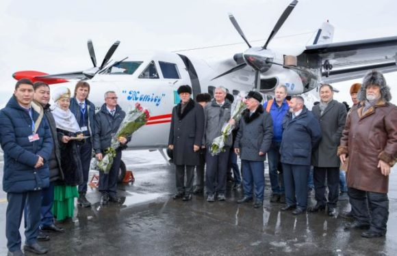 Авиаперевозчик Жетысу получил 2 борта L-410 UVP
